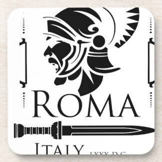 Roman Army - Legionary with Gladio Beverage Coaster