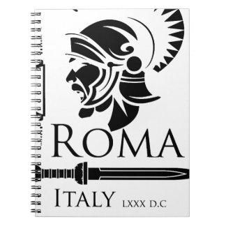Roman Army - Legionary with Gladio Notebooks