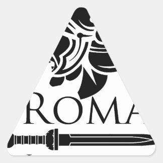 Roman Army - Legionary with Gladio Triangle Sticker