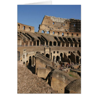 Roman Art. The Colosseum or Flavian Card