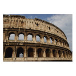 Roman Art. The Colosseum or Flavian Poster