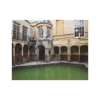 Roman Baths in Bath England Canvas Print