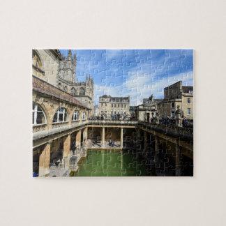 Roman Baths in Bath England Jigsaw Puzzle