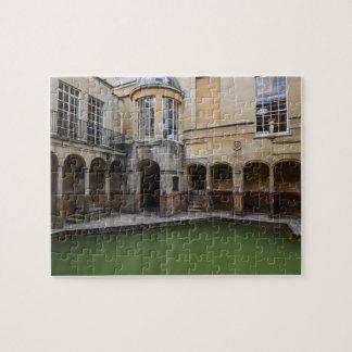Roman Baths in Bath, England Jigsaw Puzzle