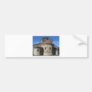 Roman Catholic basilica church San Pietro Apostolo Bumper Sticker