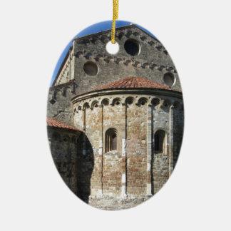 Roman Catholic basilica church San Pietro Apostolo Ceramic Oval Ornament