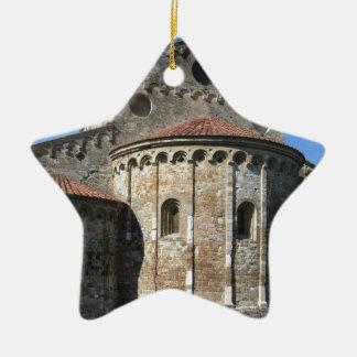 Roman Catholic basilica church San Pietro Apostolo Ceramic Star Ornament