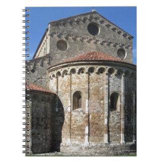 Roman Catholic basilica church San Pietro Apostolo Spiral Notebook