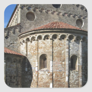 Roman Catholic basilica church San Pietro Apostolo Square Sticker