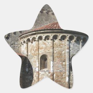 Roman Catholic basilica church San Pietro Apostolo Star Sticker