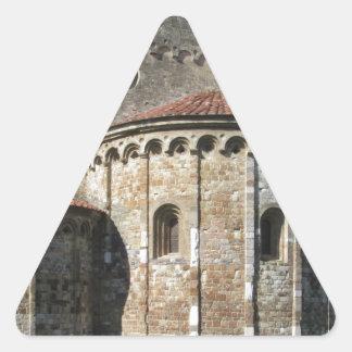Roman Catholic basilica church San Pietro Apostolo Triangle Sticker