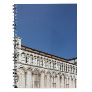 Roman Catholic basilica church Spiral Notebook