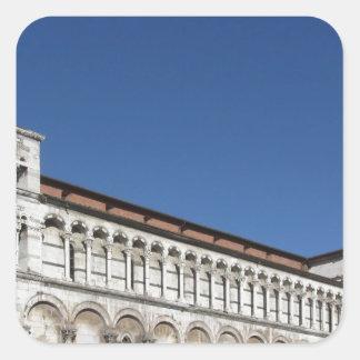Roman Catholic basilica church Square Sticker