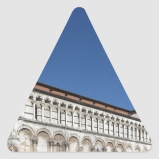 Roman Catholic basilica church Triangle Sticker