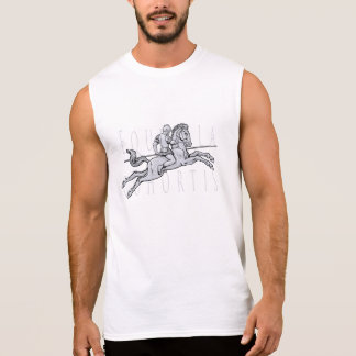 Roman Cavalry Charger (Equites Ala Cohortis) Sleeveless Tees