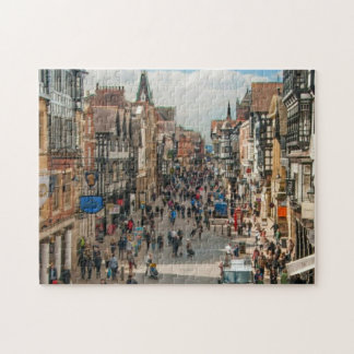 Roman City of Chester England Picture Jigsaw Puzzle