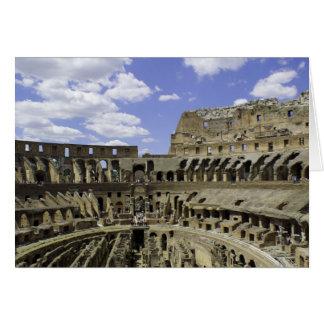 Roman Coliseum Card