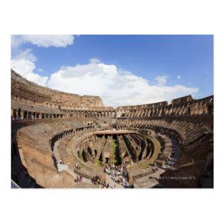 Roman Coliseum, fish eye view Postcard