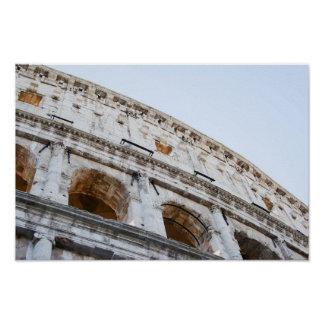 Roman Coliseum in the Morning Poster