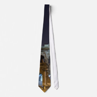 Roman Colosseum at Night Tie