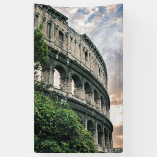 Roman Colosseum Banner