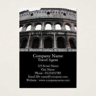 Roman Colosseum Business Card