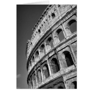 Roman Colosseum Card