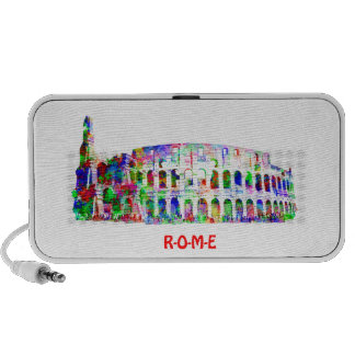 Roman Colosseum colorful architectural products Travelling Speaker