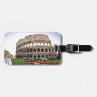 Roman Colosseum Luggage Tag