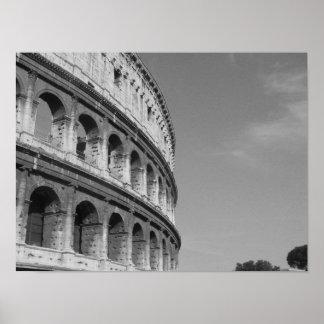 Roman Colosseum Side Photo Print