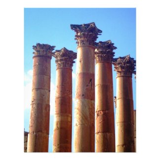 Roman Columns Cluster Customized Letterhead