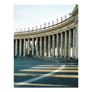 Roman Columns Letterhead