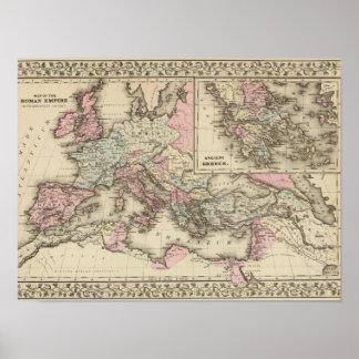Roman Empire, Greece Poster