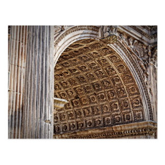 Roman Forum Arch of Septimius Severus Postcard