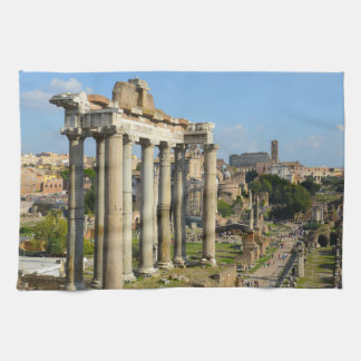 Roman Forum in Rome Towel