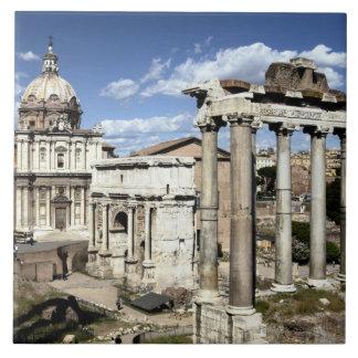 Roman Forum, Rome, Italy Ceramic Tiles