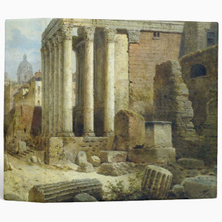 Roman Forum Ruins Italy Buildings Avery Binder