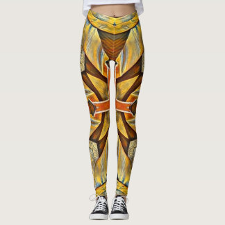Roman Gold Leggings