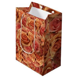 Roman Grenadier Roses Medium Gift Bag