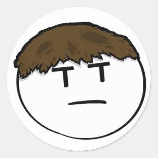 Roman Grump Sticker