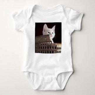 roman kitty baby bodysuit