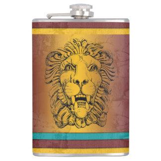 Roman Lion Flask