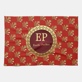 Roman Monogram Towel