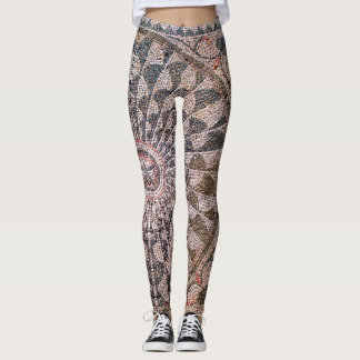 Roman Mosaic Leggings