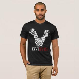 Roman Numerals LE Black T-Shirt