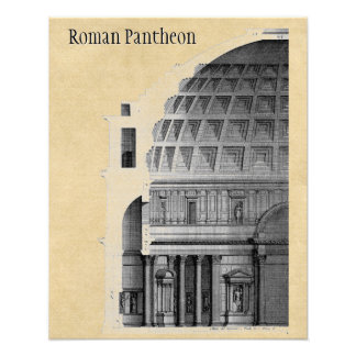 Roman Pantheon Classical Architecture Photo Print