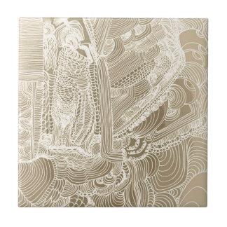 Roman Princess Ceramic Tile