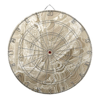Roman Princess Dartboard With Darts