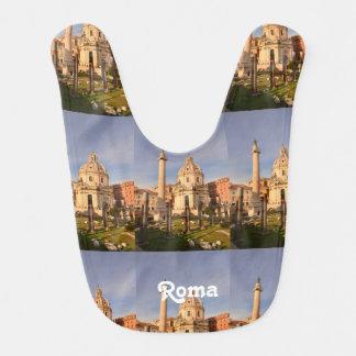 Roman Ruins Baby Bib