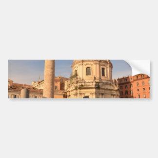 Roman Ruins Bumper Sticker